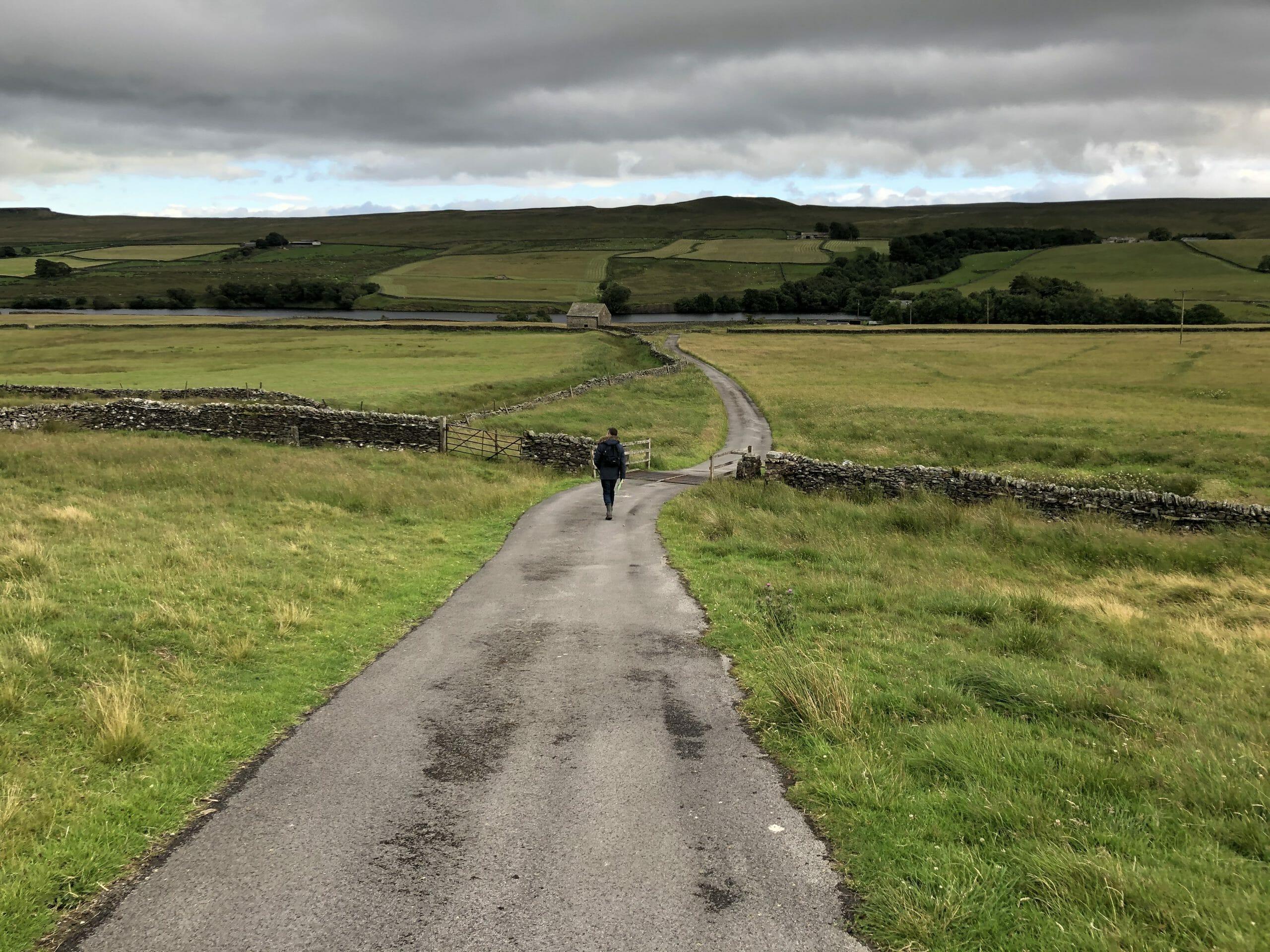 Thomas walking